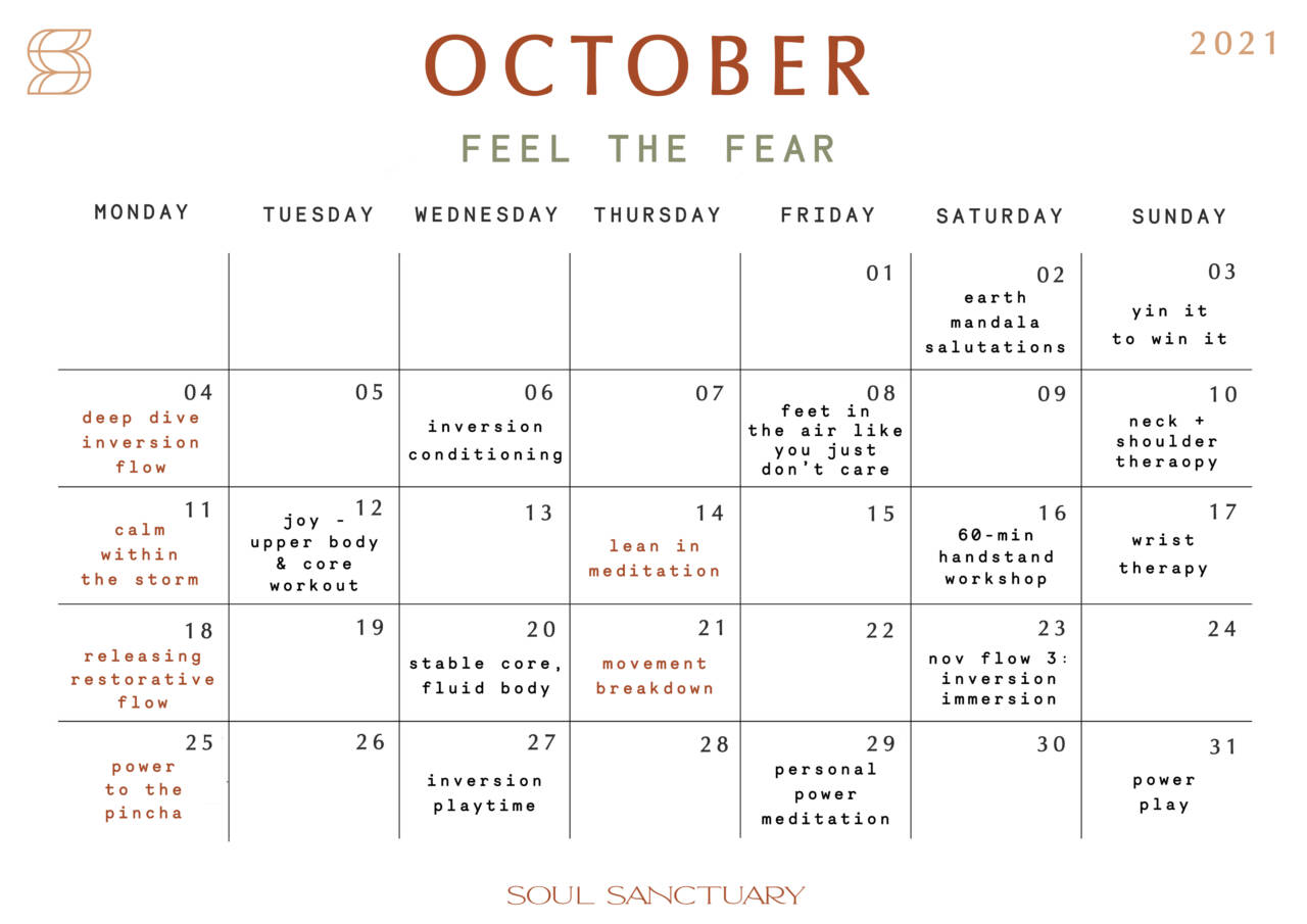 October Calendar Print_Blog